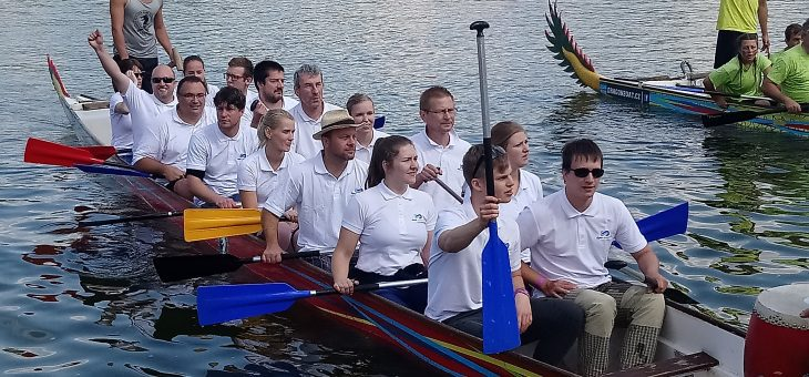 "Digres team on ""dragon boats"" 2018"