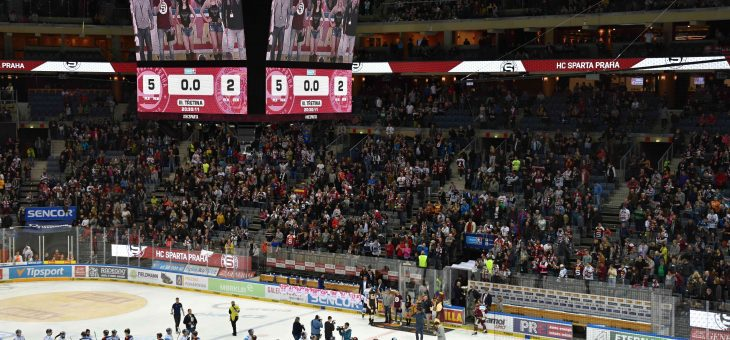VIP event: Ice-Hockey match Sparta Praha – Bílí Tygři Liberec, 8th March 2019, O2 arena