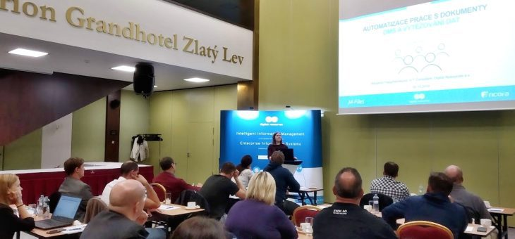 Seminar in Liberec: How to eliminate information chaos? 16 October 2019
