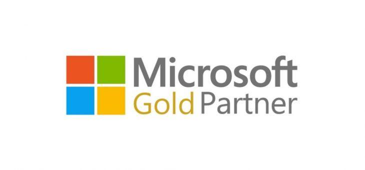Stali jsme se Gold partnerem společnosti Microsoft