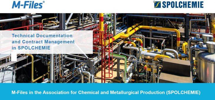 M-Files ve Spolku pro chemickou a hutní výrobu (SPOLCHEMIE)
