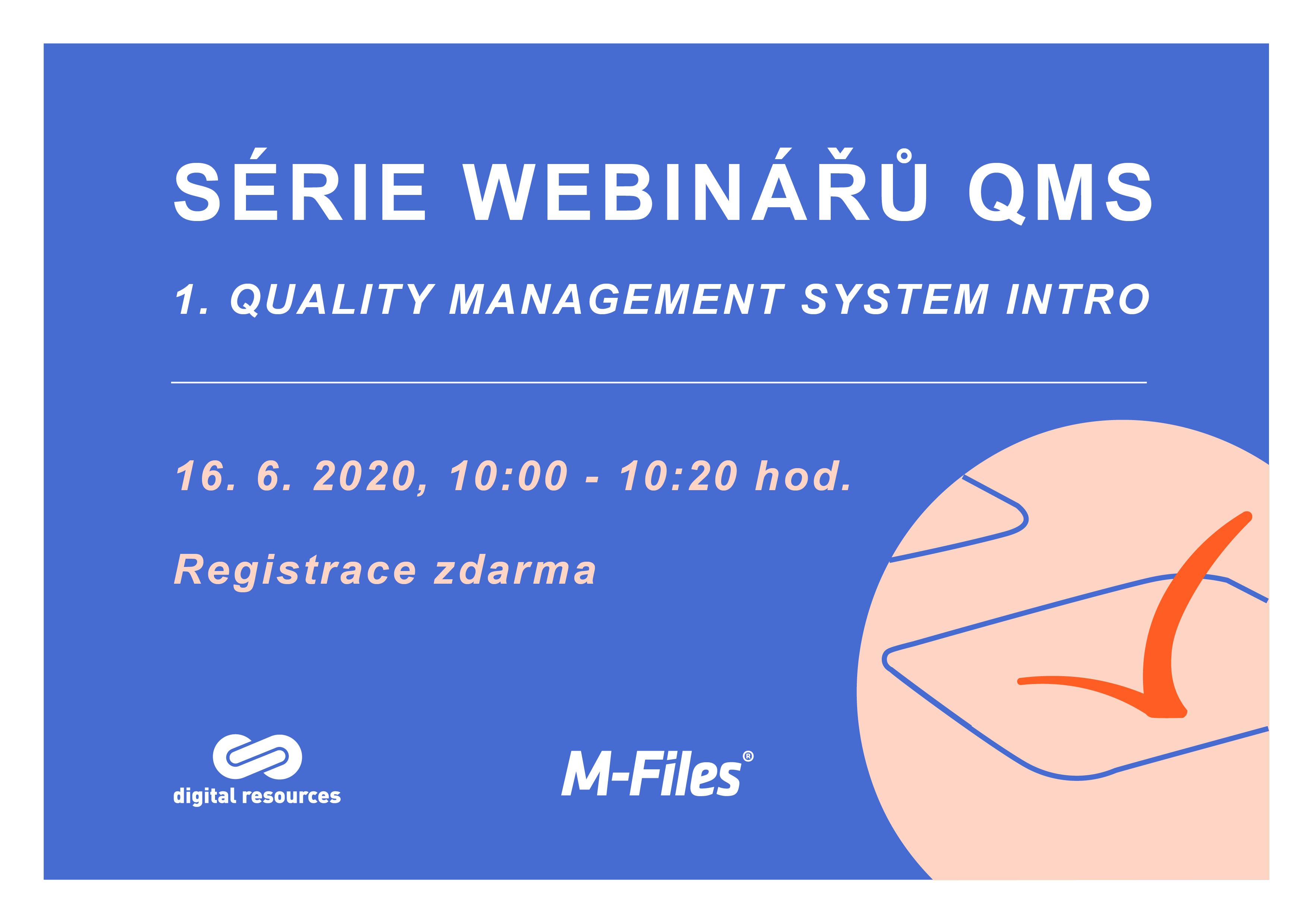 Webinar QMS 16. 6. 2020