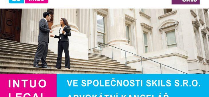 INTUO LEGAL ve společnosti Skils s.r.o. advokátní kancelář