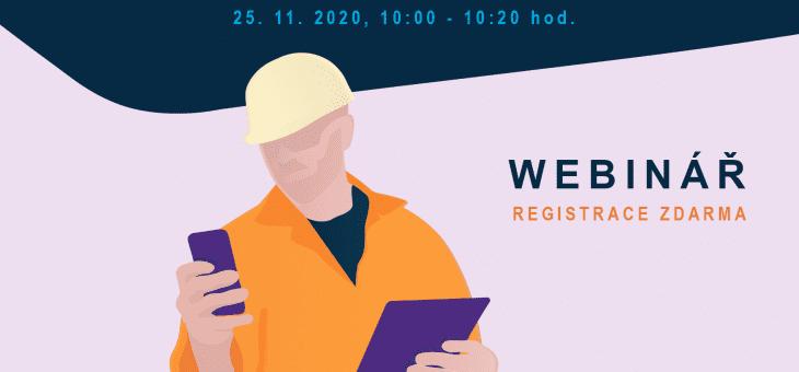 Webinář: Řízení a plánování servisu, 25. 11. 2020, 10.00 – 10.20 hod.