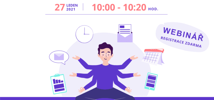 Webinář: Efektivní řízení obchodních aktivit, 27. 1. 2021, 10:00 – 10:20