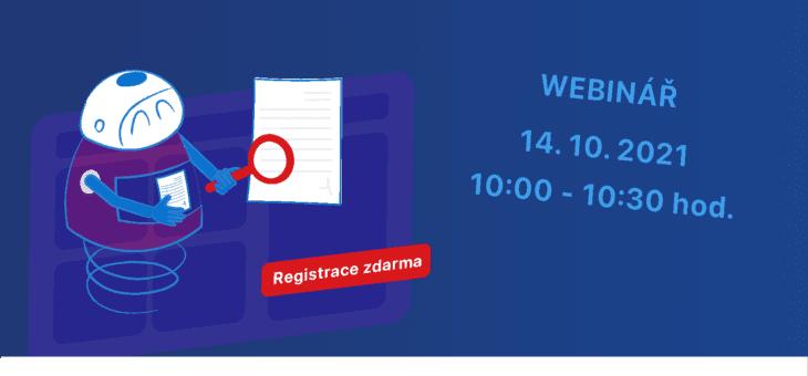 Webinář: Inovace v oblasti správy dokumentů a informací, 14. 10. 2021