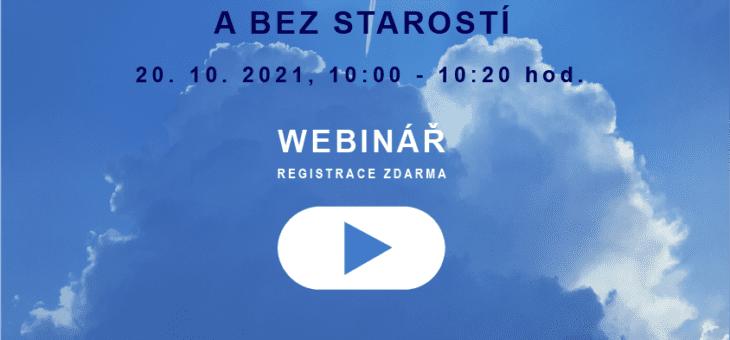Webinář: Správa informací okamžitě a bez starostí, 20. 10. 2021, 10:00 – 10:20